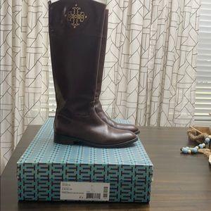 EUC Tory Burch Knee High riding Boots size 8.5